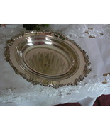 Beautiful Vintage Sheridan Silver Co. Silverplate Vegetable Dish c1947 - $34.64