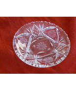 Beautiful Vintage American Brilliant Cut Glass Candy/BonBon Dish - $29.69