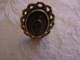 Beautiful Vintage Sarah Coventry Old Vienna Filigree Adjustable Ring - $16.82