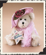 "Boyds Bears ""Sassy""- #903130- 8"" Bear- 40th Birthday- NWT- 2006 - Retired - $24.99"