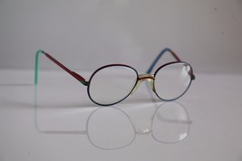 MENIA Eyewear, Red, Blue Frame, RX-Able  Prescription lenses. GERMANY - $25.25