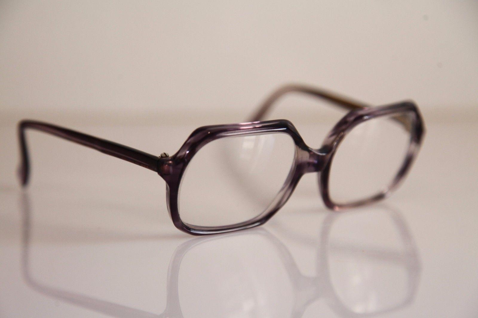 HARGA EVA Eyewear, Crystal Deep Purple Frame, RX-Able Prescription lens. FRANCE