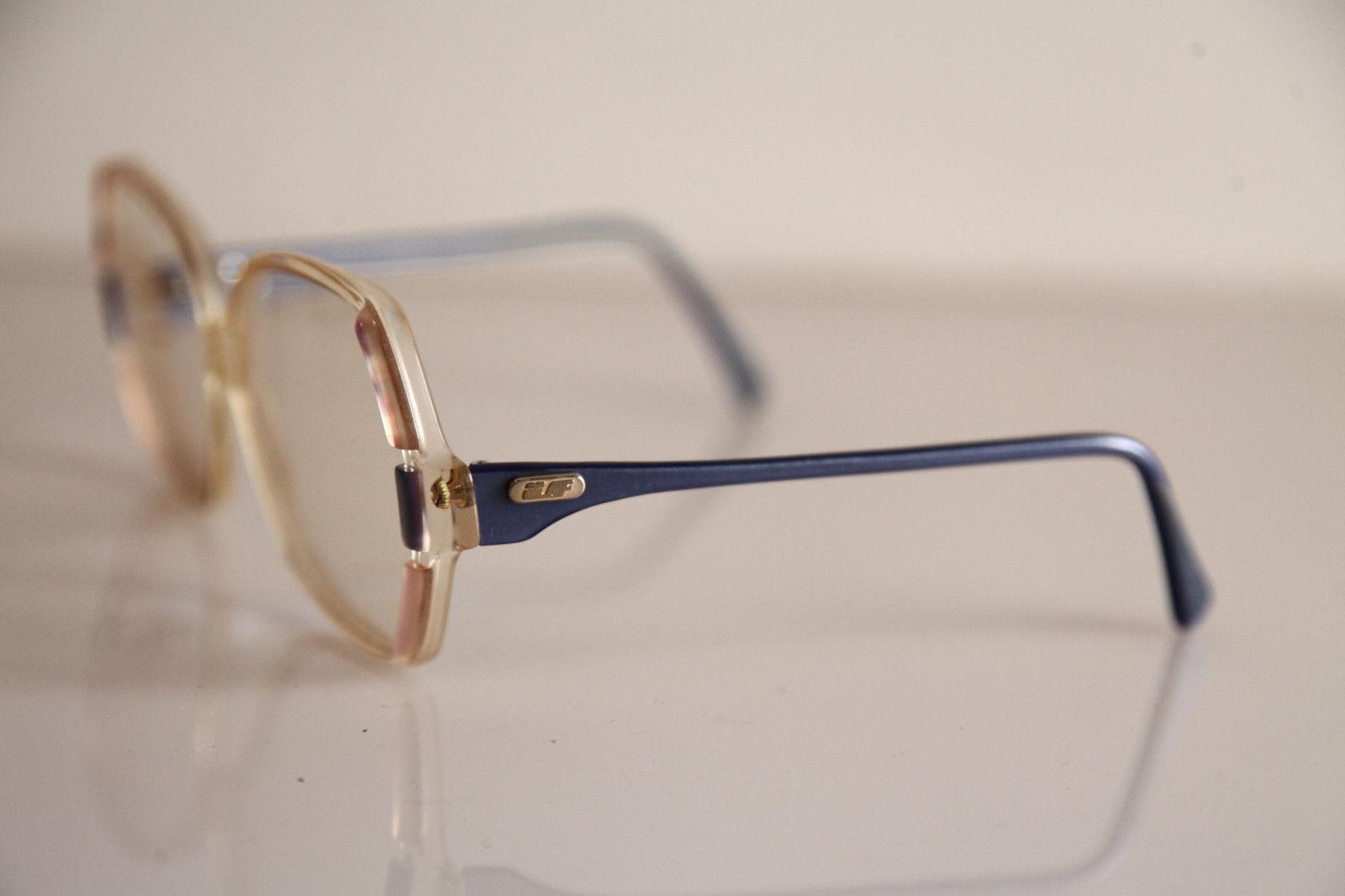 LF INVICTA CATHY Eyewear, Crystal, pink, Blue Frame,  RX-Able Prescription.