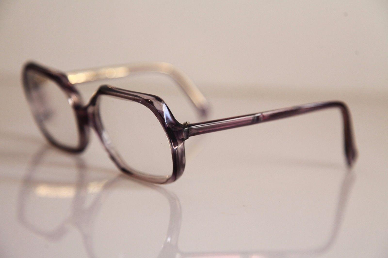 HARGA EVA Eyewear, Crystal Deep Purple Frame, RX-Able Prescription lens. FRANCE image 4