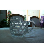 Beautiful Vintage Fostoria American Pattern #2056 Fat Pitcher W/Ice Lip - $34.64