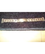 Vintage Bradfield watch band 10K RGP Made in US... - $11.87