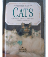 Hallmark Cats by Helen Exley Quotes & Pictures Hardcover Gift Book - $0.99