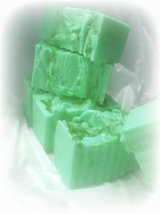 lemon and lime goats milk glycerin soap - $4.75