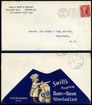 Swft's Ham & Bacon Double Sided 1903 Advertising Cover - Stuart Katz - $90.00