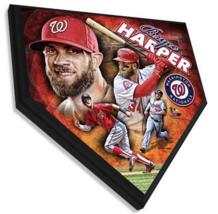 "Bryce Harper Washington Nationals 11.5"" x 11.5"" Home Plate Plaque  - $40.95"