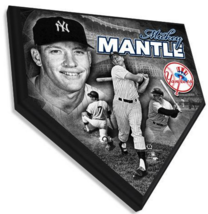 """Mickey Mantle New York Yankees 11.5"""" x 11.5"""" Home Plate Plaque  - $40.95"""