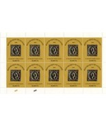 GUINEA GUINEE 2009 2010 NEW GOLD STAMP ON STAMP ITALY SHEET OF 10 15550i-3 - €119,13 EUR