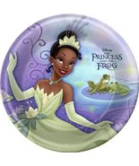 Hallmark Princess and the Frog Large Paper Plates (8ct) - $18.76