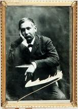 Benito Perez Galdos 1843-1920  Autograph & Photograph   - $795.00