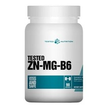 Tested Nutrition ZN-MG-B6, Unflavoured 60 capsules - $49.95