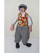 "David Larible Ringling Bros. Barnum & Bailey Circus Doll 15"" - $19.95"