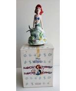 """NIB Schmid Vintage Collectible Porcelain Disney's """"The Little Mermaid"""" R... - $149.99"""