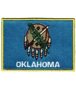 Oklahoma State Flag Embroidered Patch Iron-On OK Emblem [Apparel] - $3.99
