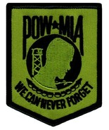 POW MIA Embroidered Patch Iron-On Vietnam War Prisoner of War Military E... - $4.99