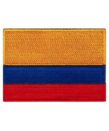 Colombia Flag Embroidered Patch Colombian Iron-On National Emblem [Apparel] - $3.99