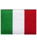 Italy Flag Embroidered Patch Italian Iron-On National Emblem [Apparel] - $3.99
