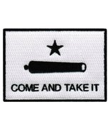 Come and Take It Flag Embroidered Patch Iron-On Gonzales Texas Revolutio... - $4.99