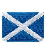 Scotland Flag Embroidered Patch Scottish Iron-On National Emblem [Apparel] - $3.99