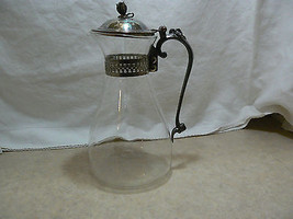 Vintage Unmarked Silverplate Coffee Carafe No C... - $24.74