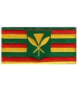 Hawaii Kanaka Maoli State Flag Embroidered Patch Iron-On Kamehameha Hawa... - $4.99