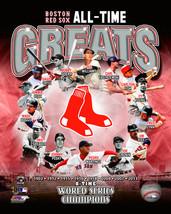Boston Red Sox Greats Williams Ruth 8X10 Color Baseball Memorabilia Photo - $6.99