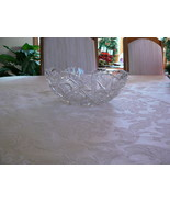 Gorgeous American Brilliant Period Crystal Sawtooth Edge Bowl  - $44.54