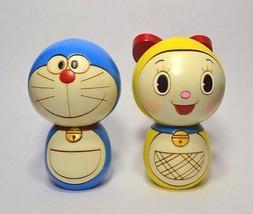 F/S DORAEMON & DORAMI Usaburo Kokeshi Japanese ... - $137.61