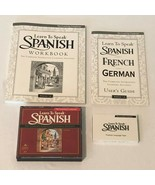 The Learning Company Learn to Speak Spanish 7 User Guide 3 CDs Workbook ... - $14.99