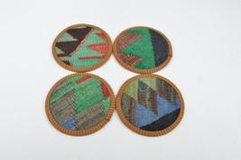 rustic Coaster set , Decorative  Natural Coasters, Wedding Gift,art coa... - $14.90