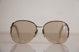 Eyewear, Gold Half Rimless Frame, RX-Able  Tinted Prescription lenses. - $13.37