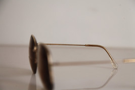 Eyewear, Gold Half Rimless Frame, RX-Able  Tinted Prescription lenses. image 7