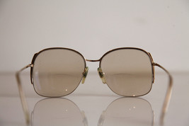 Eyewear, Gold Half Rimless Frame, RX-Able  Tinted Prescription lenses. image 8