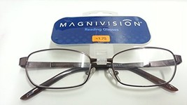 Magnivision Reading Glasses +1.75 (Brown Tips) - $17.99