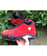 wholesale Nike Air Jordan 14 Sport Shoes Basketball Shoes Ferrari Size 8-13 - $138.00