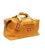 Stylish Duffle Bag Carry On Luggage Durable Hide Leather Shoulder Strap ... - $688.08