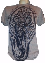 Men t shirt short sleeve Ganesha Lord Buddha Om Cotton India Hindu Sure M retro - $12.86