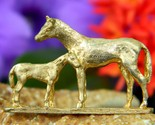 Vintage_horse_brooch_pin_mare_foal_colt_filly_mother_baby_signed_thumb155_crop