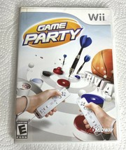 Game Party (Nintendo Wii, 2007) with manual Tested/Working - $19.32