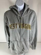 Nike Men's West Virginia Mountaineers Full Zip Hoodie Jacket Gray Sewn S... - $19.79