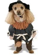 SCARECROW MEDIUM PET COSTUME WIZARD OF OZ - £19.00 GBP