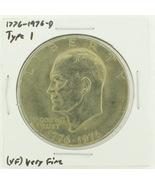1976-D Type I Eisenhower Dollar RATING: (VF) Very Fine (N2-3934-11) - $3.50