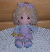 Precious Moments Doll Lonnie Waits for Phone Conversations With You - $4.89