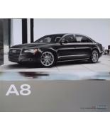2011 Audi A8 sales brochure catalog US 11 A8L L 4.2 - $12.00