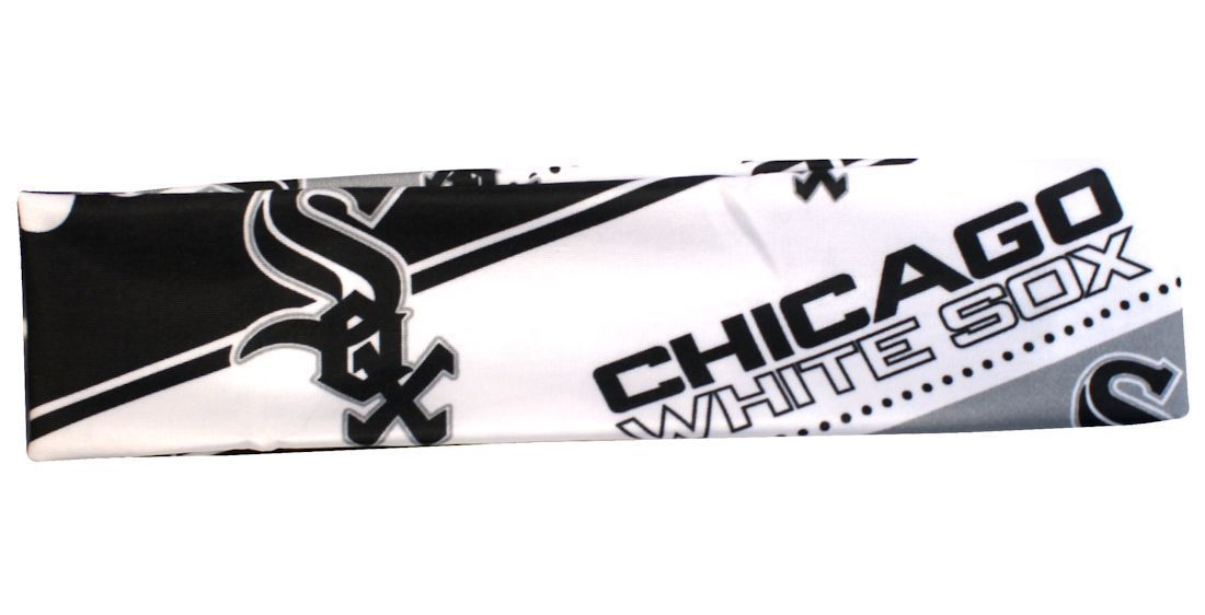 CHICAGO WHITE SOX STRETCH PATTERN TEAM HEADBAND TAILGATE PARTY MLB BASEBALL
