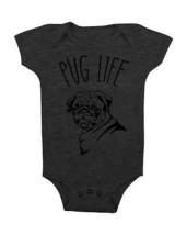 Pug Life Baby Onesie Funny Onesie Pug Dog Baby Shower Gifts Bodysuits Cute Baby - $15.00